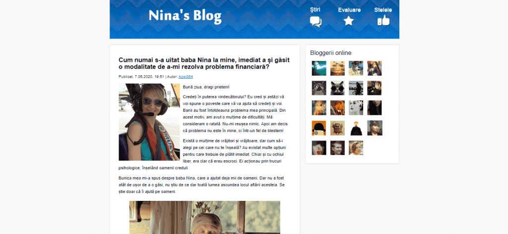 Articol colectiv despre primul blog - Dilema veche